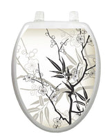 Cherry Blossoms Toilet Tattoos - Window Film World