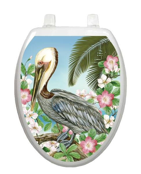Pelican Toilet Tattoo - Window Film World