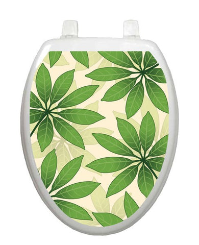 Floating Leaves Toilet Tattoos - Window Film World