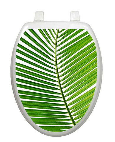 Palm Frond Toilet Tattoo - Window Film World