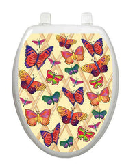 Butterflies-a-Flutter Toilet Tattoos - Window Film World