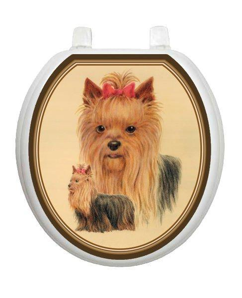 Yorkshire Terrier Toilet Tattoos - Window Film World