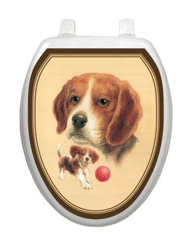 Beagle Toilet Tattoos - Window Film World