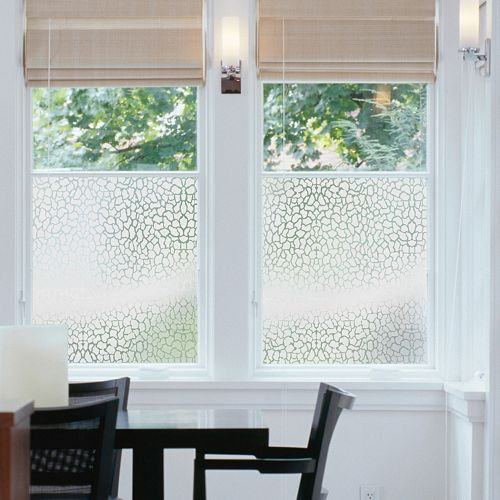 Iceberg Decorative Window Film Privacy Static Cling