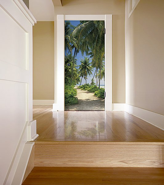 Way To The Beach Wall Mural -Discontinued - Window Film World