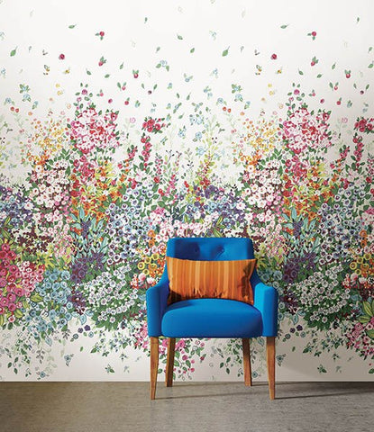 Meadow Multicolor Wall Mural - Window Film World