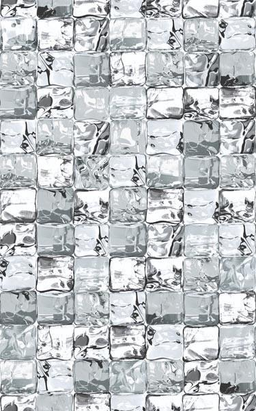 Clear Ice Cubes Privacy Static Cling