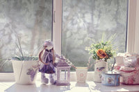 Spring Decorative Window Film |Privacy (Static Cling) - Window Film World