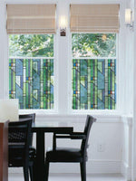 Geometrics Stained Glass | Semi-Privacy(Adhesive) - Window Film World