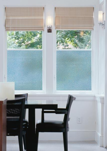 Rain Drops Decorative Window Film Privacy Peel And Stick