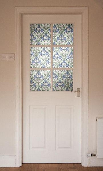 Iris Stained Glass Window Film | Privacy (Adhesive) - Window Film World