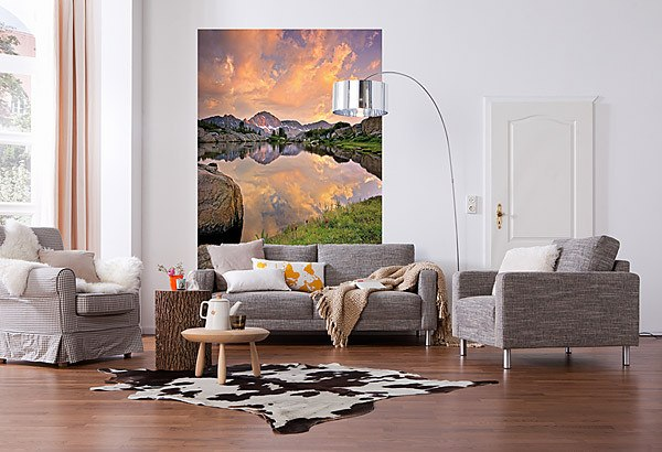 Alpenglow Wall Mural - Window Film World