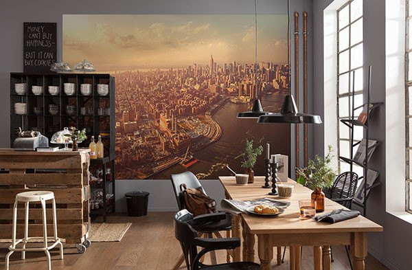 Manhattan Mural - Window Film World