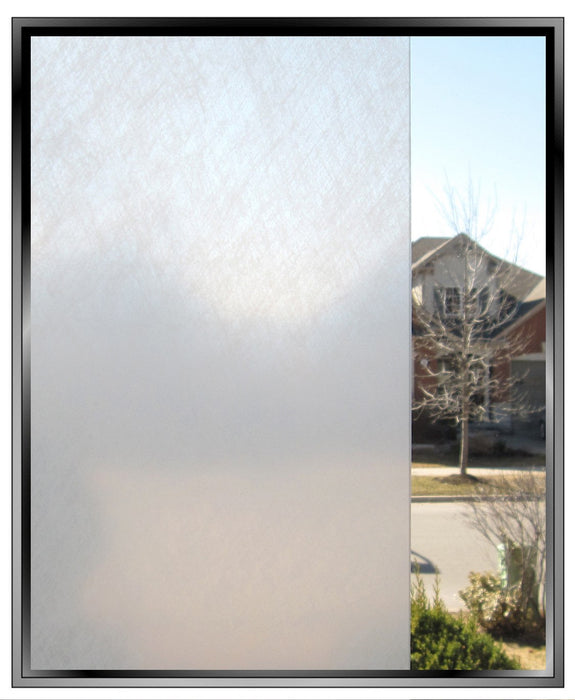 Snow Textured Window Film | Privacy ( Static Cling) - Window Film World