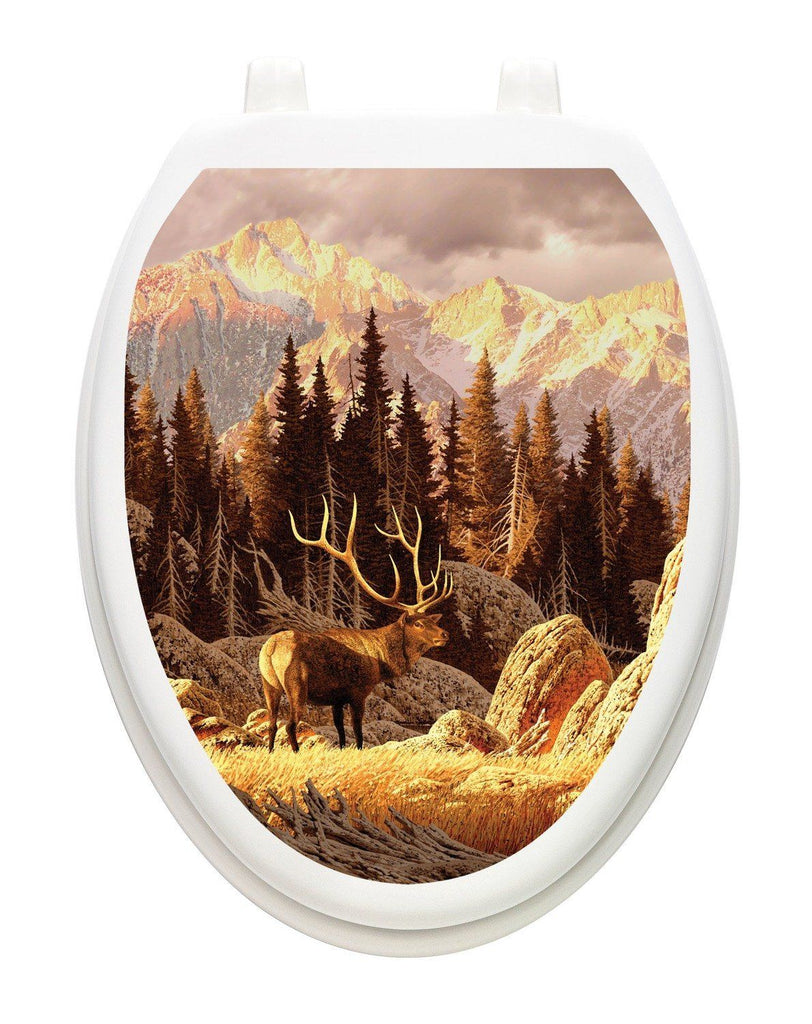 Elk Bull Toilet Tattoos - Window Film World