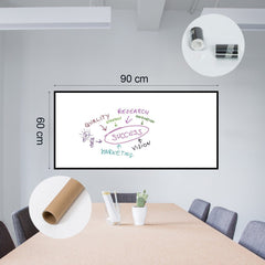 EZ Film WhiteBoard Marker Board (Adhesive) - Window Film World