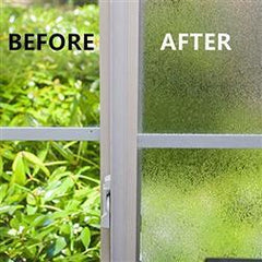 EZ Film Tinted Frost | Privacy (Static Cling) - Window Film World