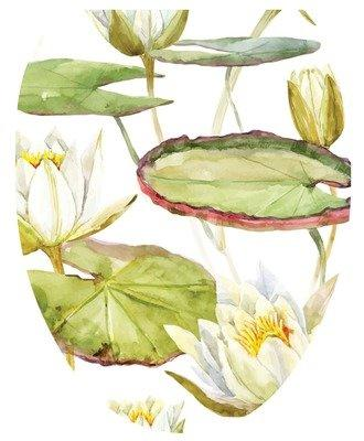 Lotus Blossom Toilet Tattoo - Window Film World