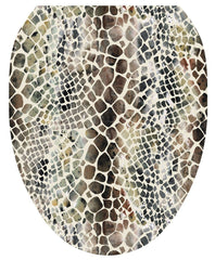 Snakeskin Toilet Tattoos - Window Film World
