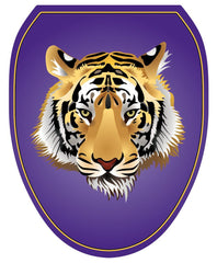 Purple Tiger Toilet Tattoos - Window Film World