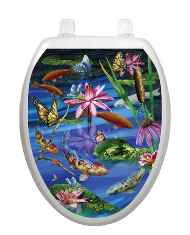 Koi Fish Toilet Tattoos - Window Film World