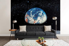 Earth/Moon Wall Mural - Window Film World