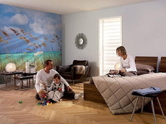 Ocean Breeze Wall Mural - Window Film World