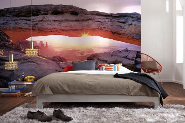 Arch Canyon Wall Mural - Window Film World