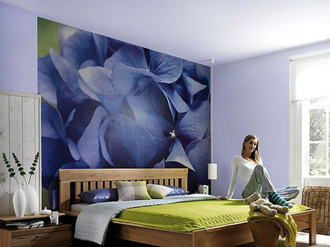 Hortensia Wall Mural - Window Film World