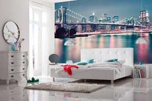 Neon Wall Mural - Window Film World