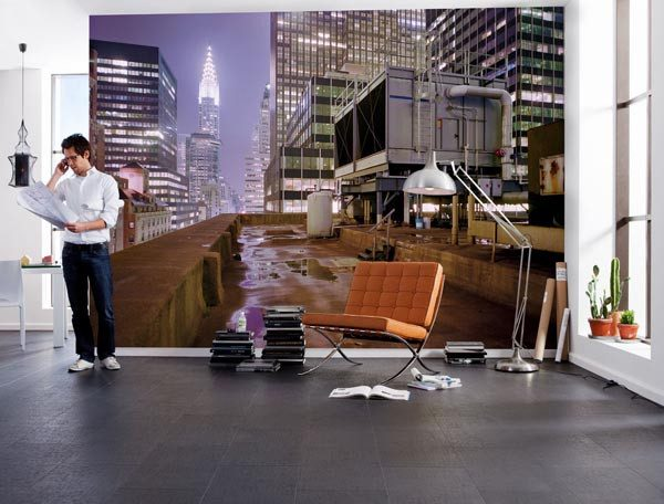 On Top Wall Mural - Window Film World