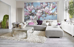 Magnolia Wall Mural - Window Film World