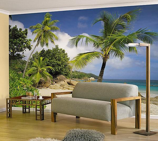 Praslin Wall Mural - Window Film World