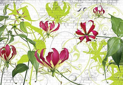 Gloriosa Wall Mural - Window Film World