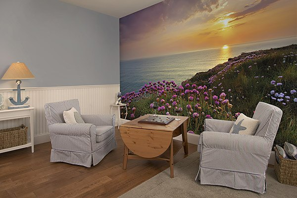 Land's End Wall Mural - Window Film World