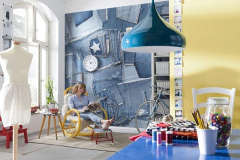 Jeans Wall Mural - Window Film World