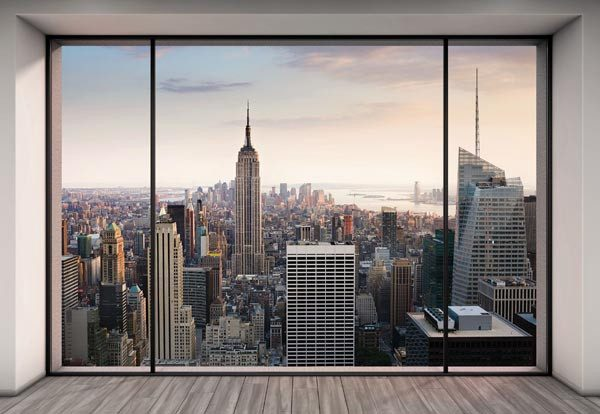 Penthouse Wall Mural - Window Film World