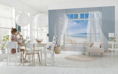 Malibu Wall Mural - Window Film World