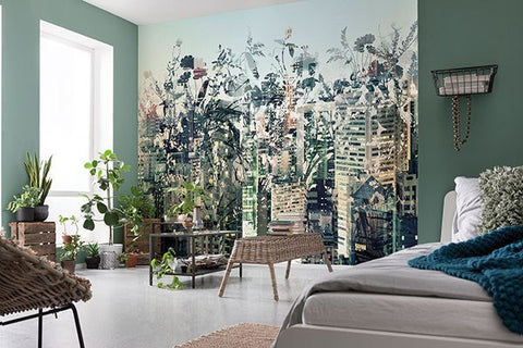 Urban Jungle Wall Mural - Window Film World