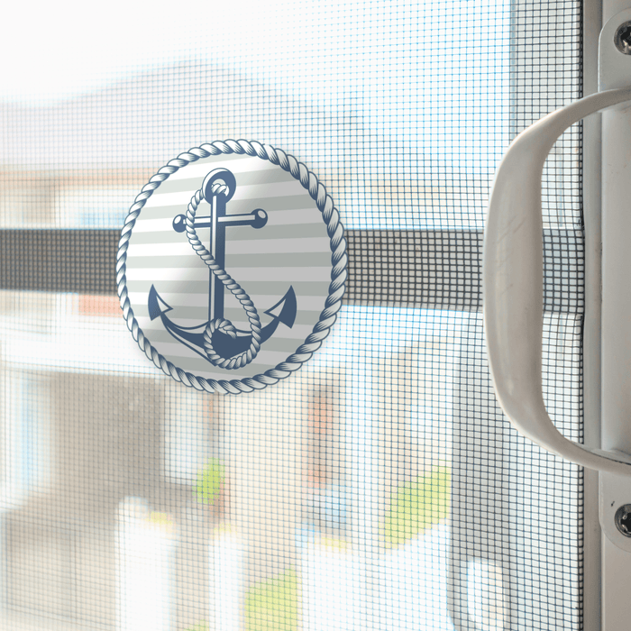 "Anchor Screen Door Magnets (5.75"" x 5.75"") - Window Film World"