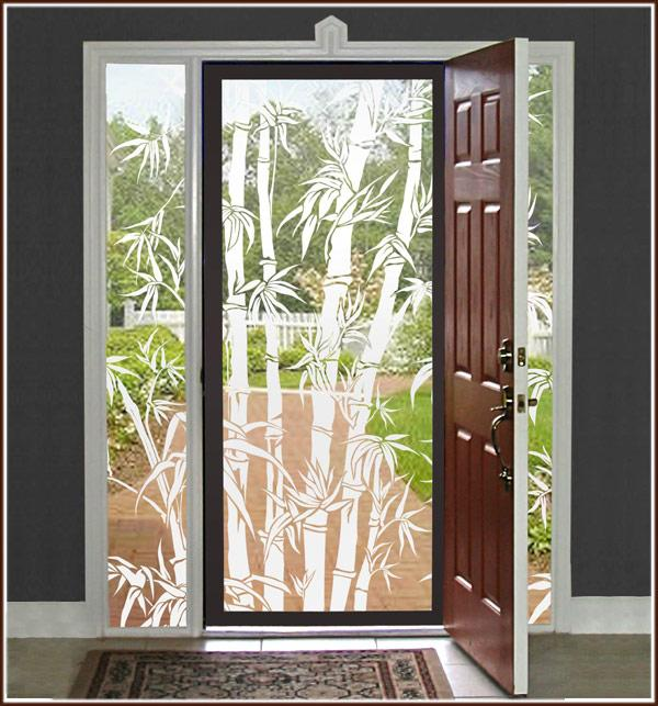Big Bamboo | See -Thru  Window Film (Static Cling) - Window Film World