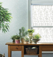 Bamboo | Privacy Window Film (Static Cling) - Window Film World
