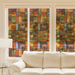 Barcelona Stained Glass  Window Film | (Adhesive) - Window Film World