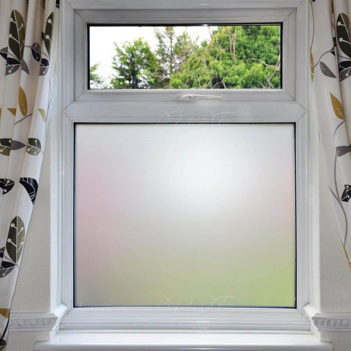 Frosted Window Film Privacy Adhesive Roll Custom Length Available Window Film World