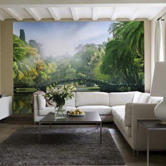 Bridge In The Sunlight Wall Mural - Window Film World