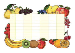 Fruits Whiteboard Wall Decal - Window Film World