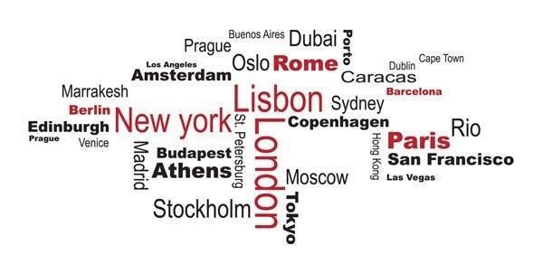Cities Wall Decals - Window Film World