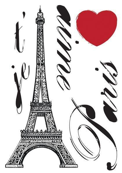 Paris Wall Decals - Window Film World