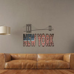 New York Wall Decals - Window Film World