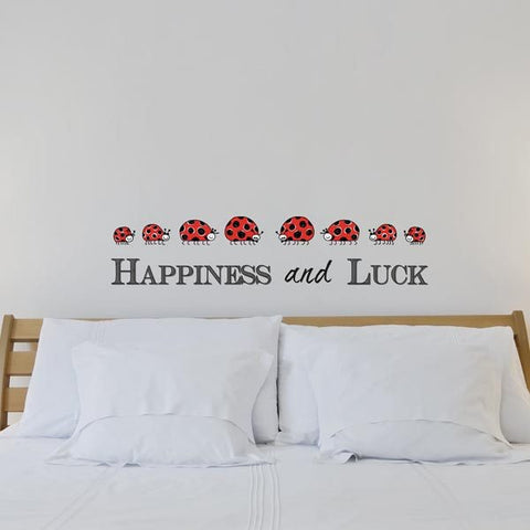 Happiness Wall Decals - Window Film World